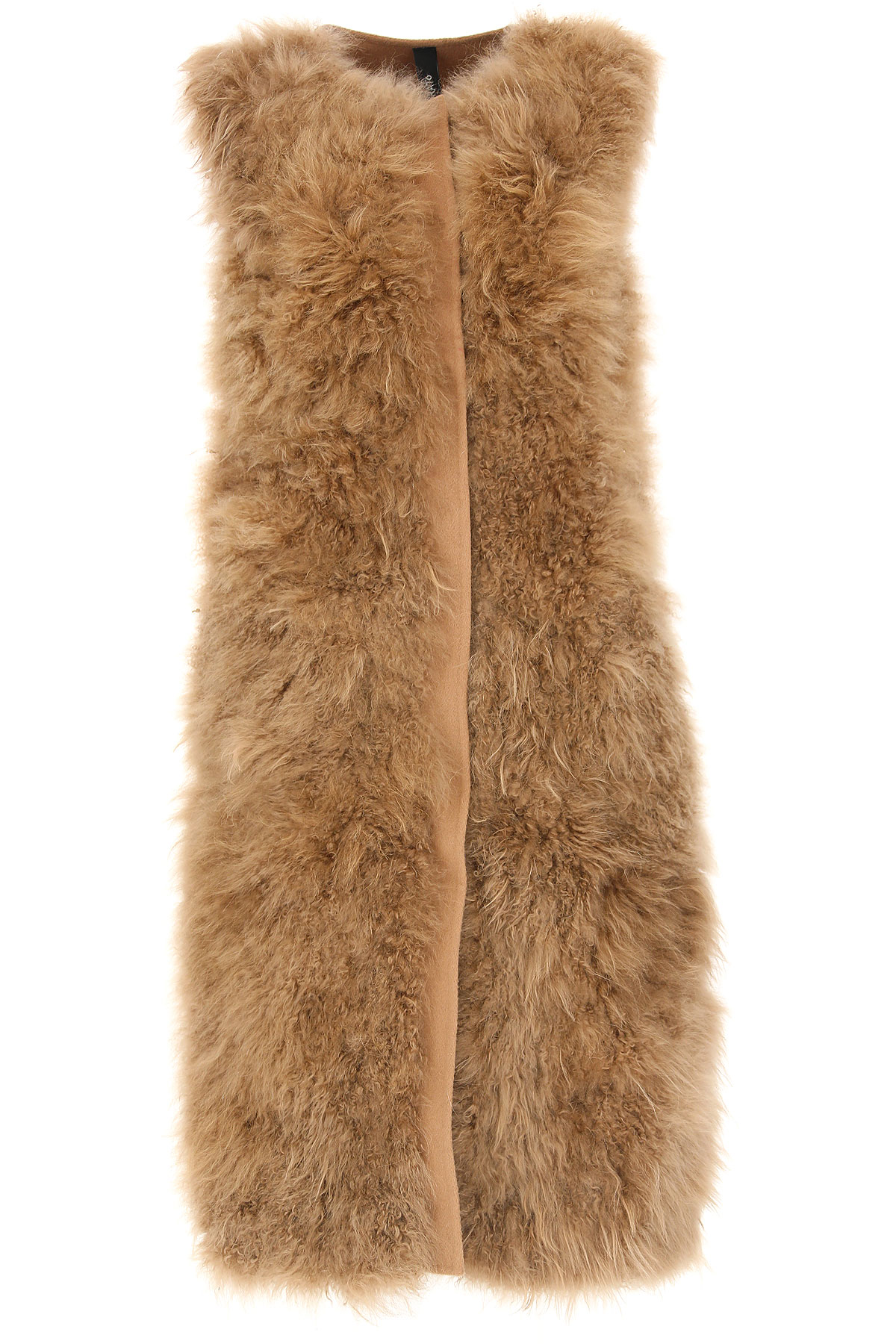 Image of WLG by Giorgio Brato Women\'s Coat, Brown, Wool, 2017, 10 4 6 8