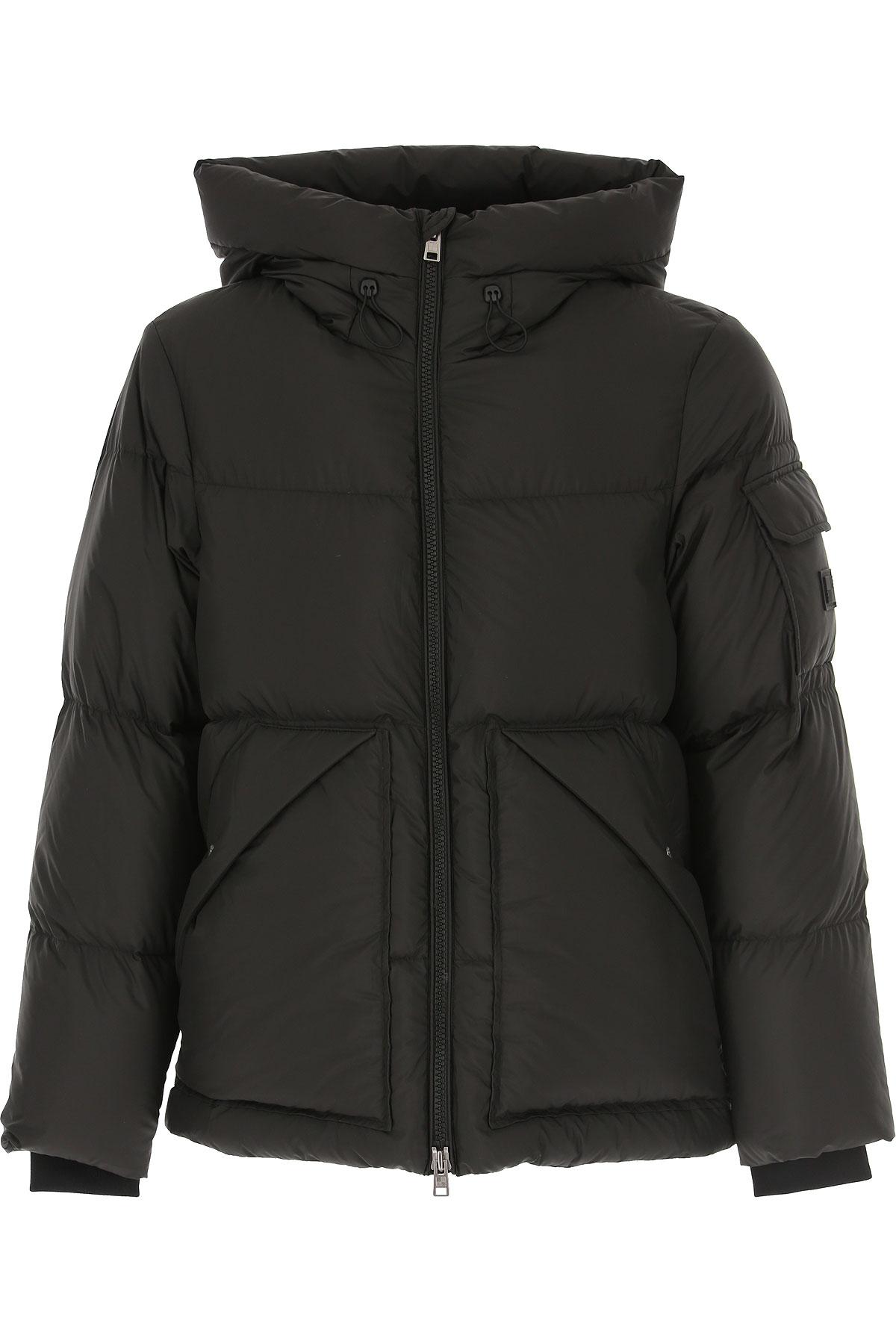 Woolrich Down Jacket for Men, Puffer Ski Jacket On Sale, Black, Duck Down, 2019, L S XL