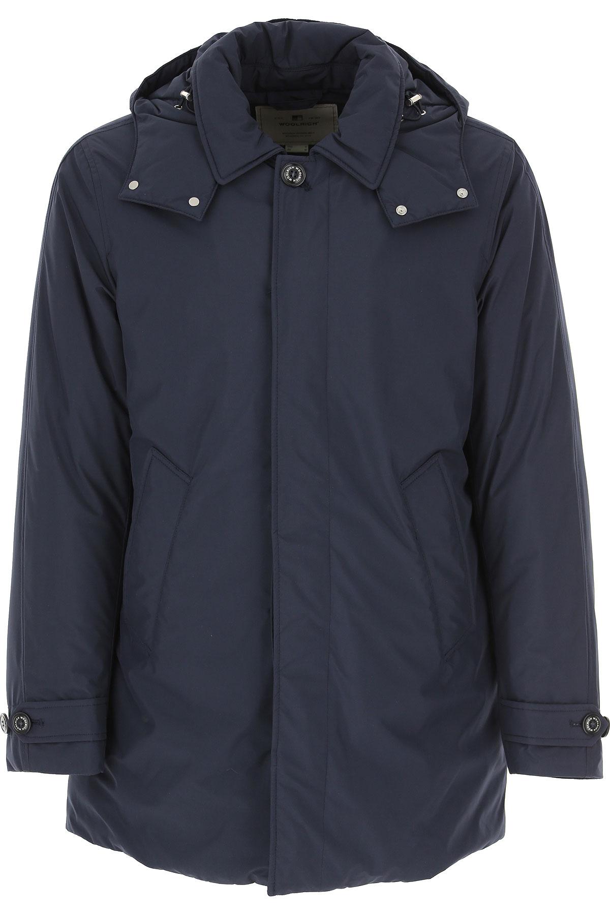 Woolrich Jean Homme Pas cher en Soldes, Bleu Melton, Polyester, 2017, 46 48 50 52 L M S XL XXL