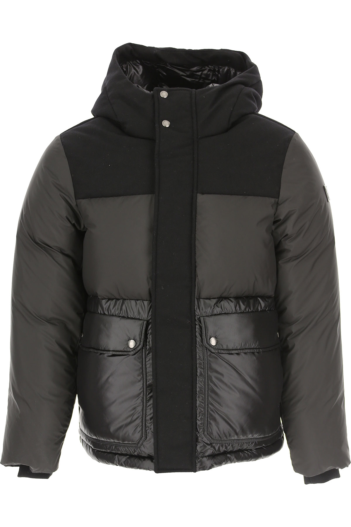 Woolrich Down Jacket for Men, Puffer Ski Jacket, Black, polyamide, 2019, L M S XS