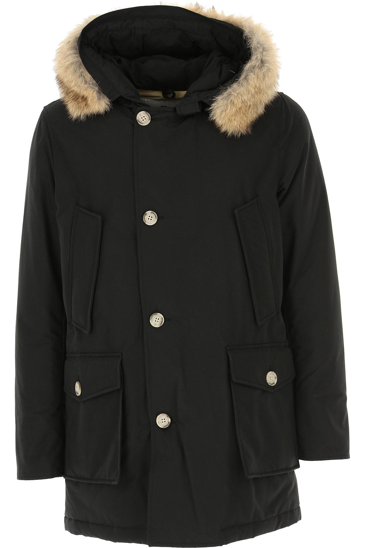 Woolrich Down Jacket for Men, Puffer Ski Jacket, Black, polyamide, 2019, L M S XL XS XXL