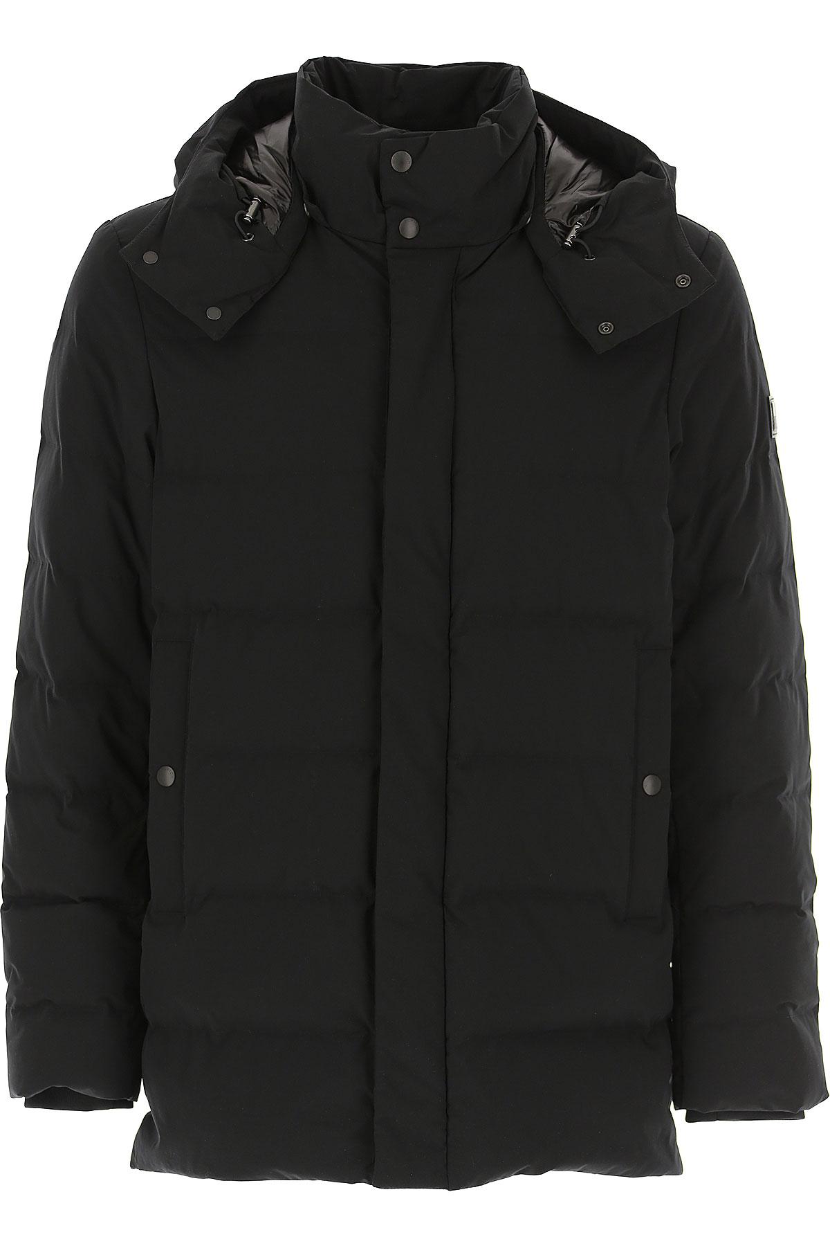 Woolrich Down Jacket for Men, Puffer Ski Jacket, Black, Down, 2019, L S XL XXL