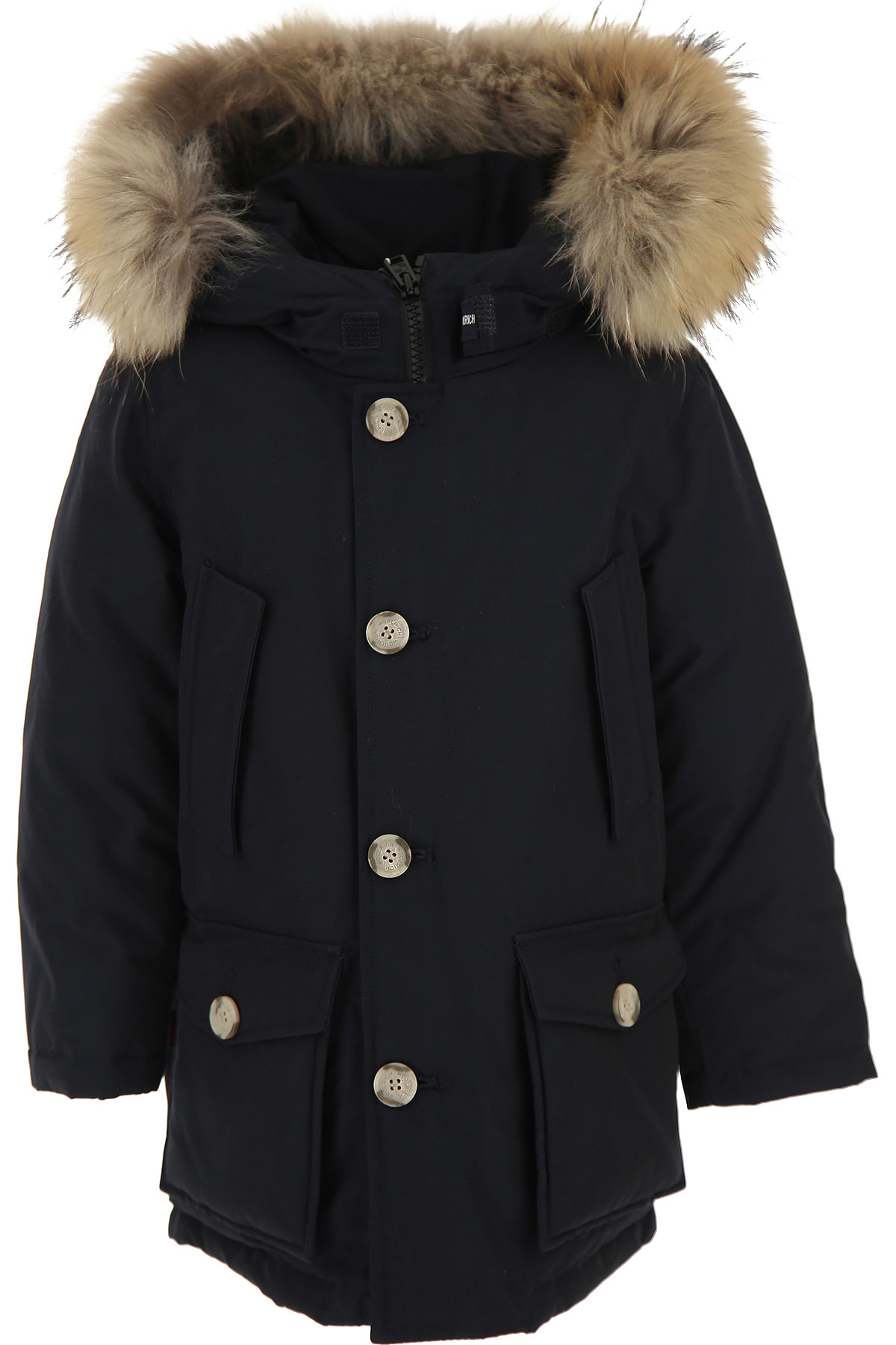 Woolrich Boys Down Jacket for Kids, Puffer Ski Jacket On Sale, Black, Cotton, 2019, 10Y 12Y 14Y 16Y 4Y 6Y 8Y