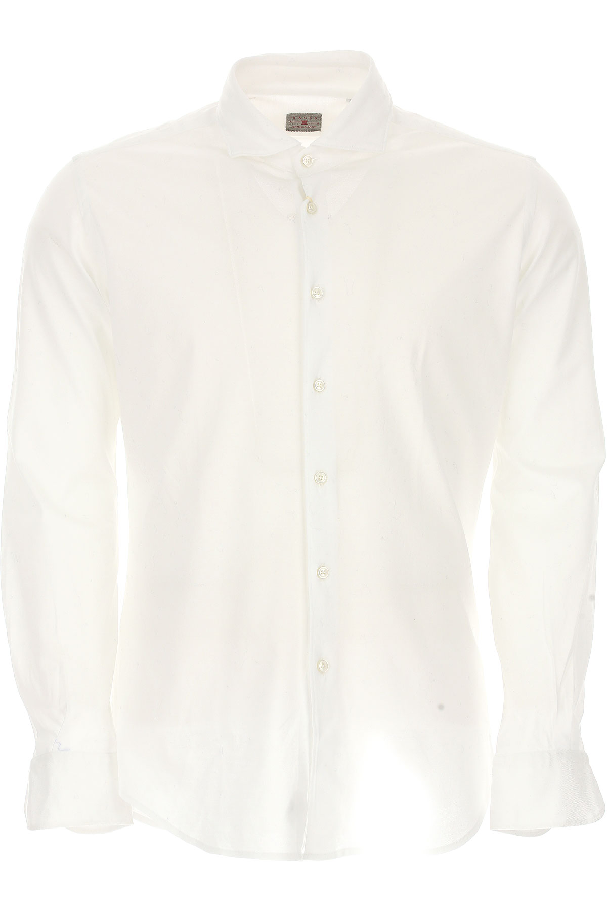 Image of Xacus Shirt for Men On Sale, White, Cotton, 2017, 16.5 17 17.5