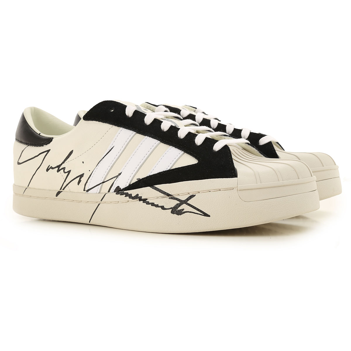 Y3 by Yohji Yamamoto Sneakers for Men On Sale, White, Leather, 2019, 10.5 11.5 7.5 8 8.5 9 9.5