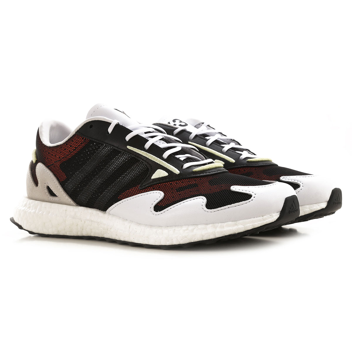 Y3 by Yohji Yamamoto Sneakers for Men On Sale, Black, Leather, 2019, 10 10.5 8 8.5 9 9.5