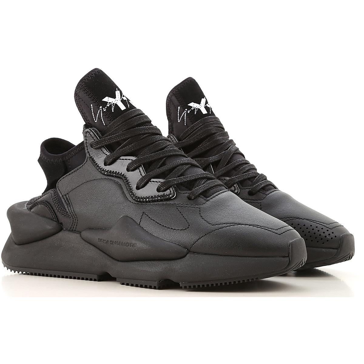 Y3 by Yohji Yamamoto Sneakers for Women On Sale, Black, Leather, 2019, 10 6 6.5 7 8.5 9 9.5