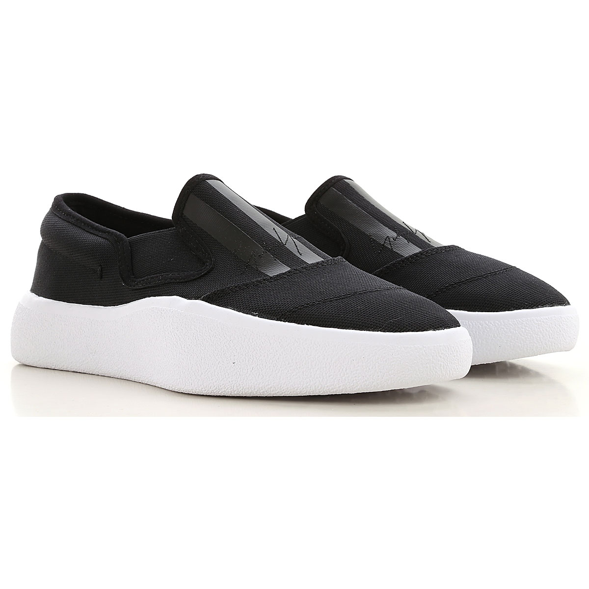 Y3 by Yohji Yamamoto Slip on Sneakers for Women On Sale in Outlet, Black, Woven Fabric, 2019, 4.5 5.5 6