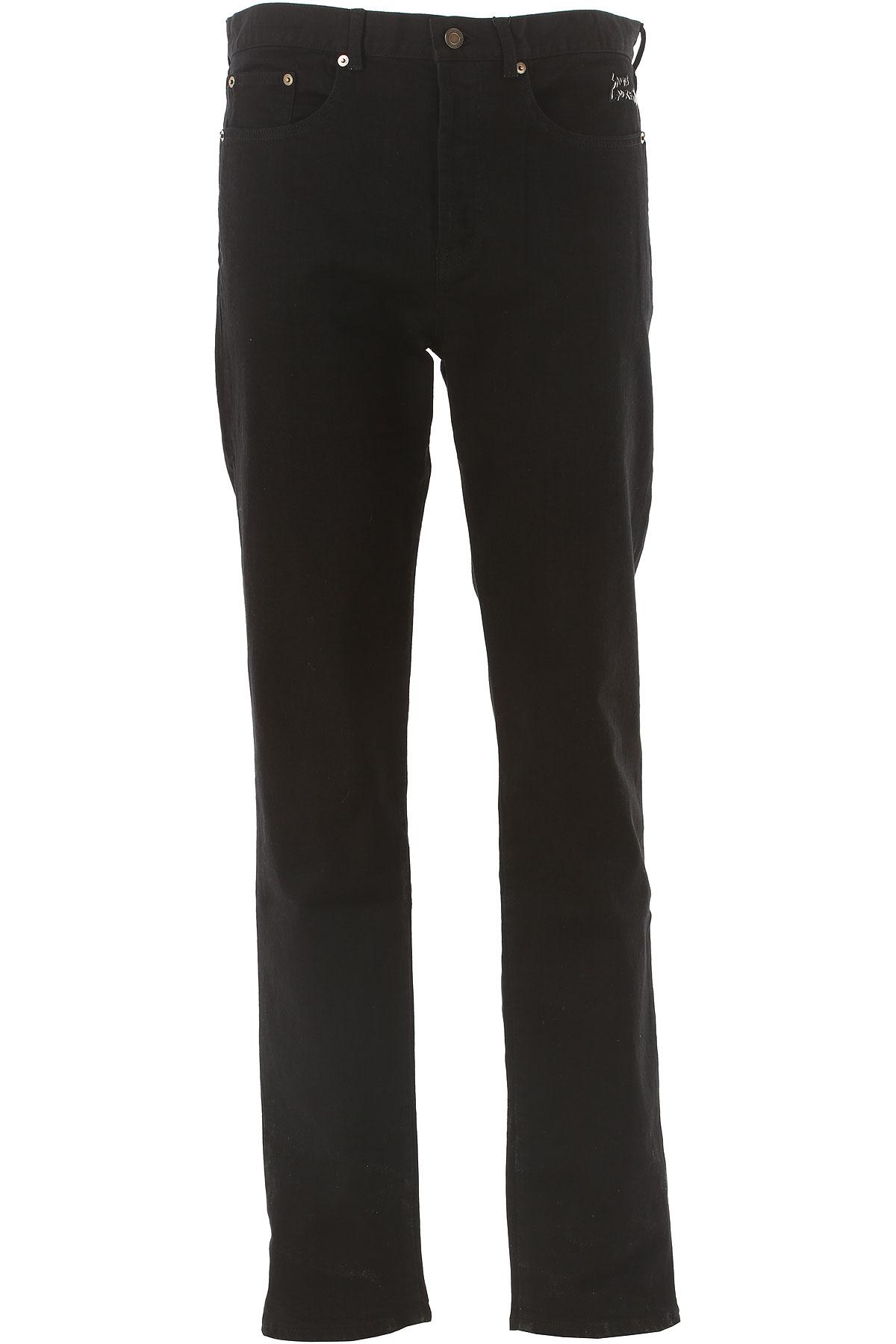 Yves Saint Laurent Jeans On Sale in Outlet, Black, Cotton, 2017, 29 30 32 33