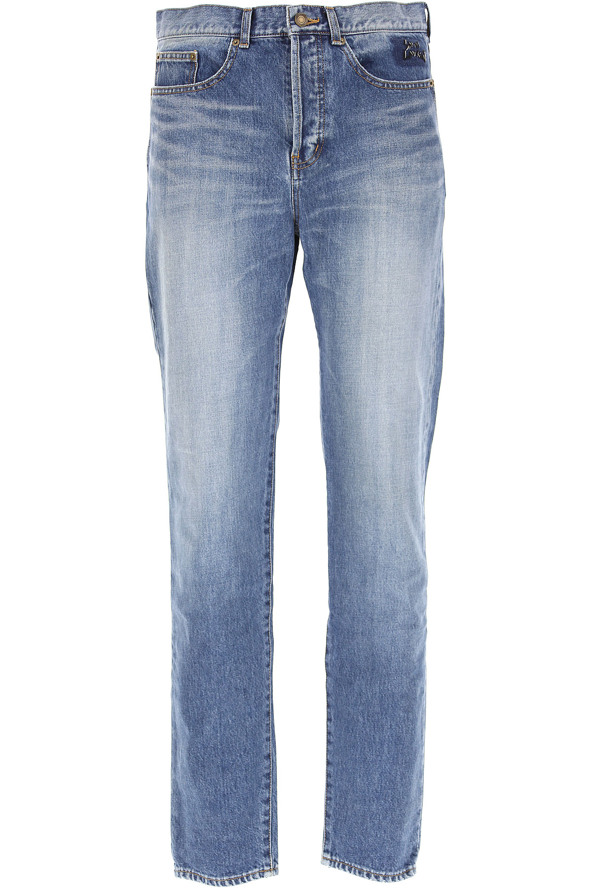 Yves Saint Laurent Jeans On Sale in Outlet, Denim, Cotton, 2017, 29 30 31 32 33