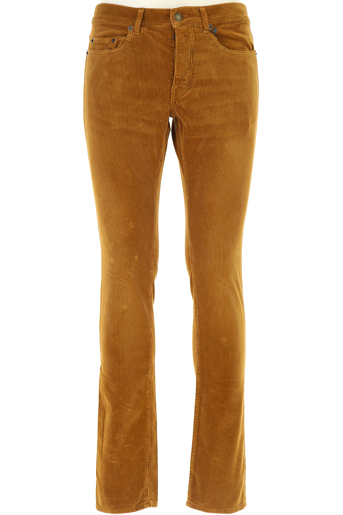 Yves Saint Laurent Pants for Men On Sale, Brown, Cotton, 2017, 30 31 32 33 36