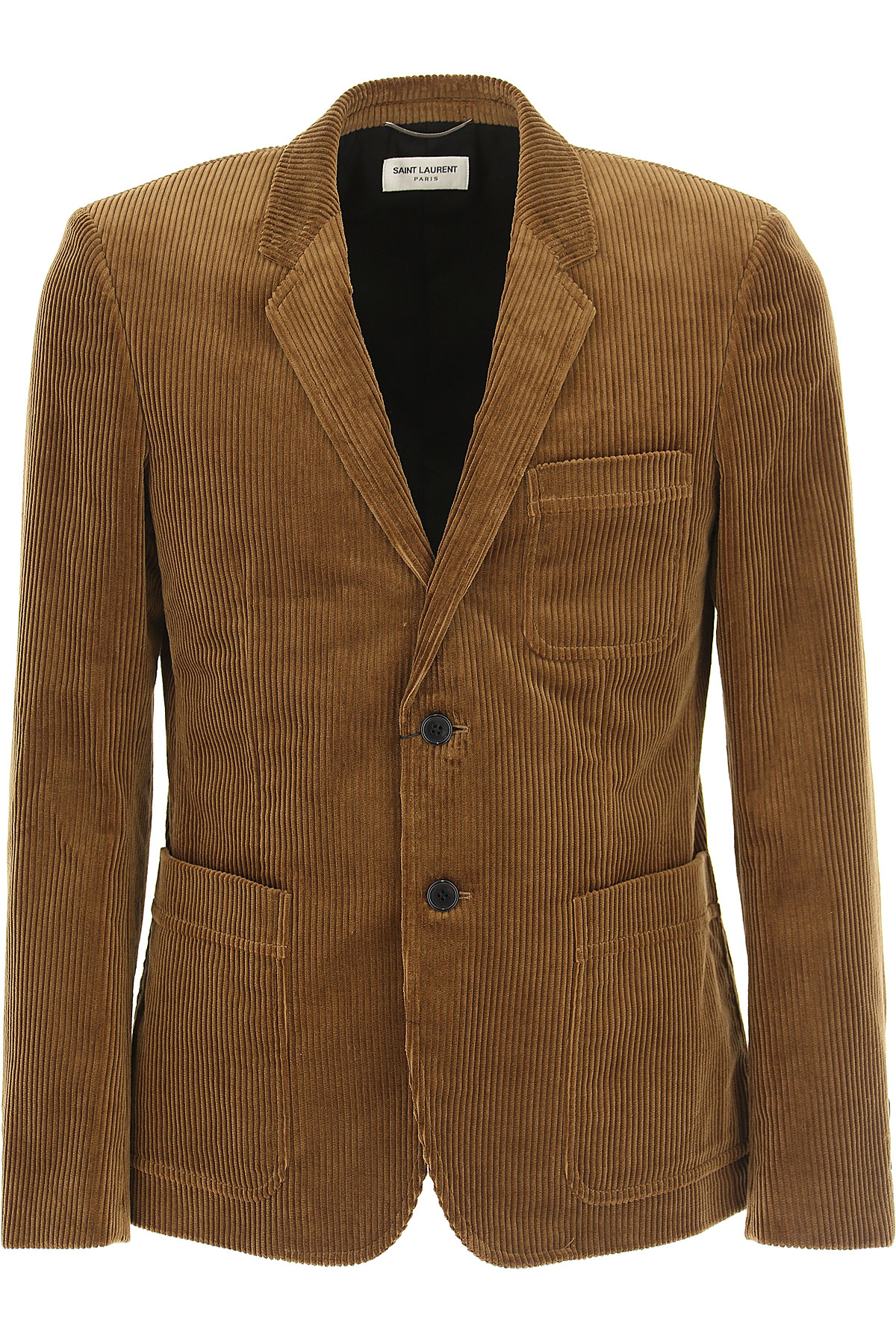Image of Yves Saint Laurent Blazer for Men, Sport Coat, Brown, Cotton, 2017, L M