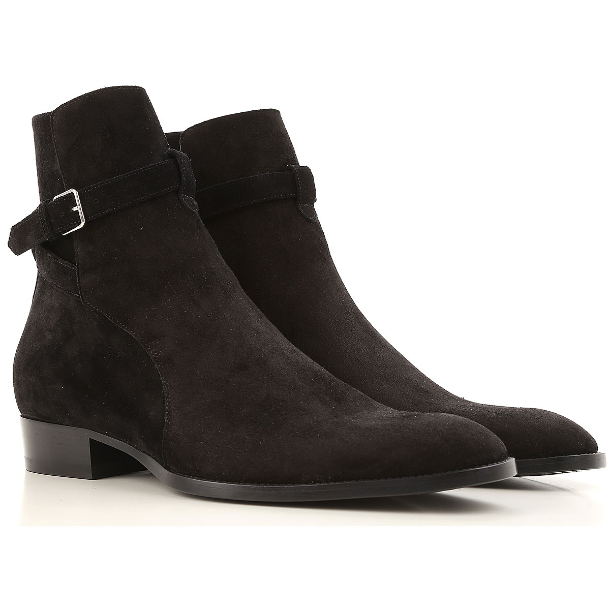 Yves Saint Laurent Boots for Men, Booties On Sale, Black, Suede leather, 2019, 10 10.5 8.5 9.5