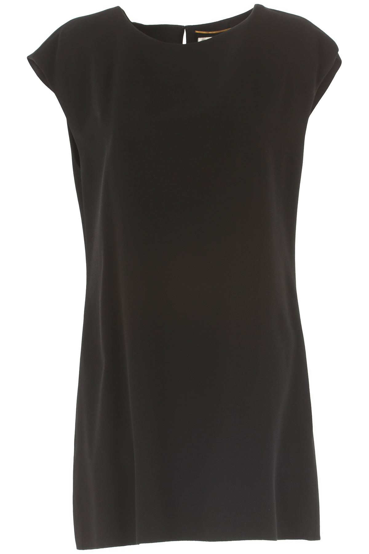 Yves Saint Laurent Dress for Women, Evening Cocktail Party On Sale in Outlet, Black, viscosa, 2019, 6 8
