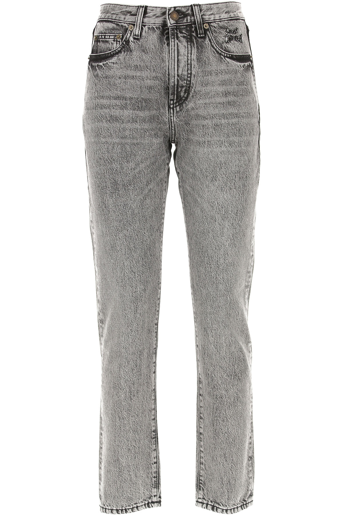 Yves Saint Laurent Jeans On Sale in Outlet, Grey, Cotton, 2017, 25 26 27 28