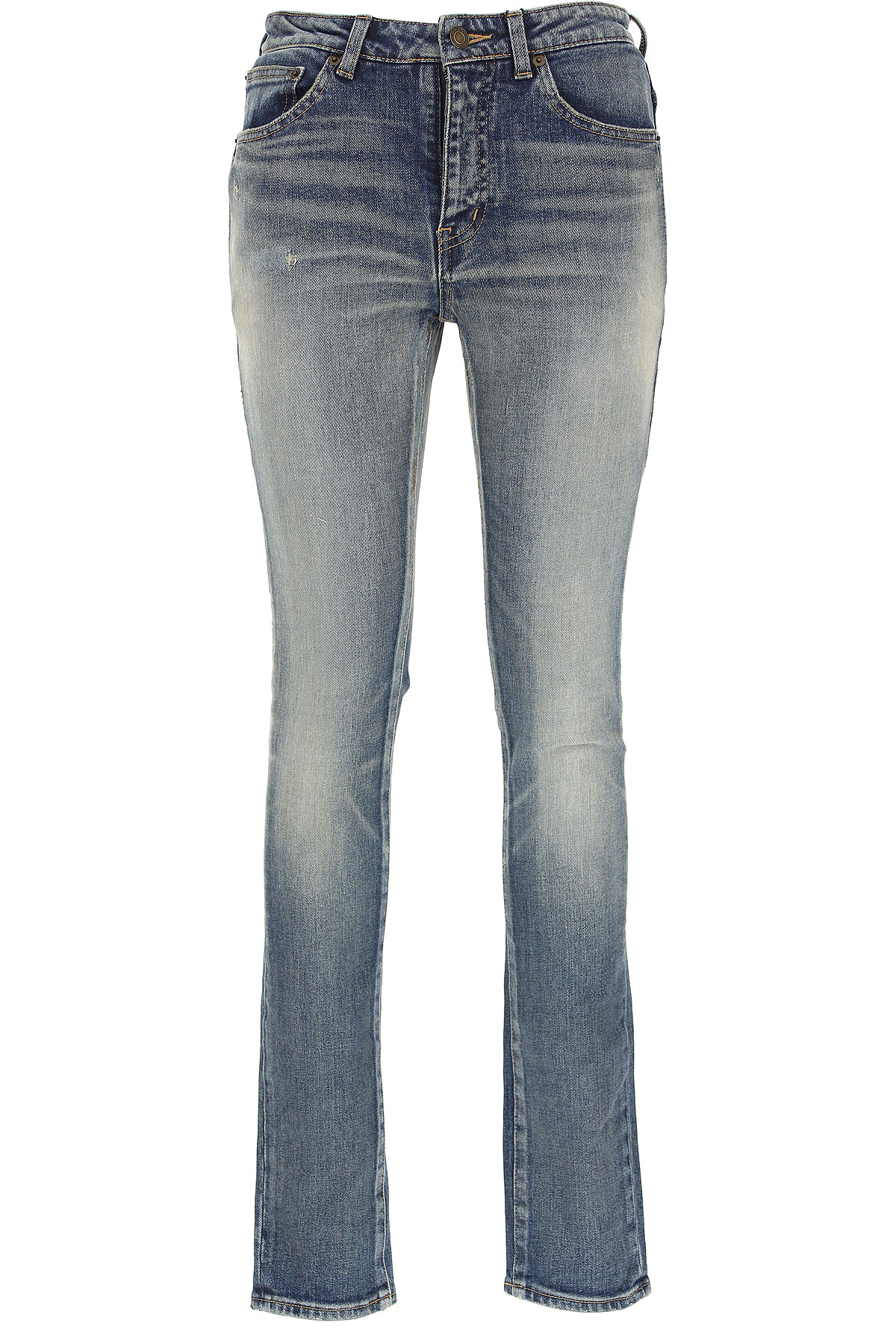 Yves Saint Laurent Jeans On Sale, Denim Blue, Cotton, 2017, 25 26 27 28 29