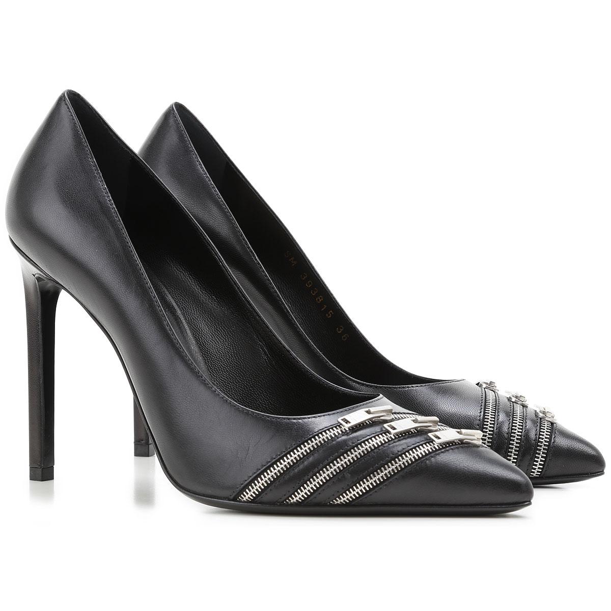 chaussures femme yves saint laurent code produit 393815 akp00 1000. Black Bedroom Furniture Sets. Home Design Ideas
