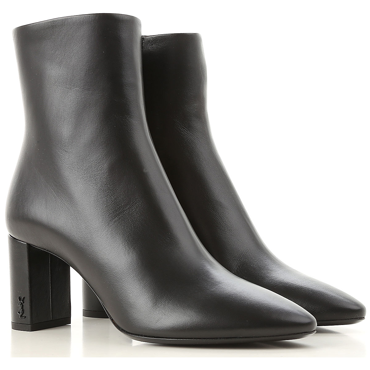 Yves Saint Laurent Boots for Women, Booties On Sale in Outlet, Black, Leather, 2019, 10 5 5.5 6 8 8.5 9 9.5