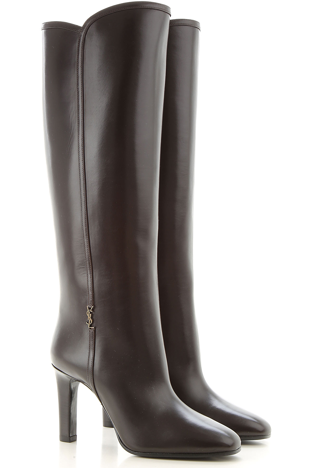 Yves Saint Laurent Boots For Women, Booties, Black, Leather, 2019, 3.5 4 4.5 5.5 6 6.5 7 7.5