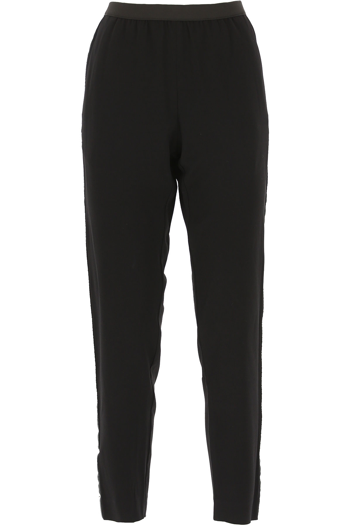 Zadig & Voltaire Pants for Women On Sale, Black, Viscose, 2019, 26 28 30