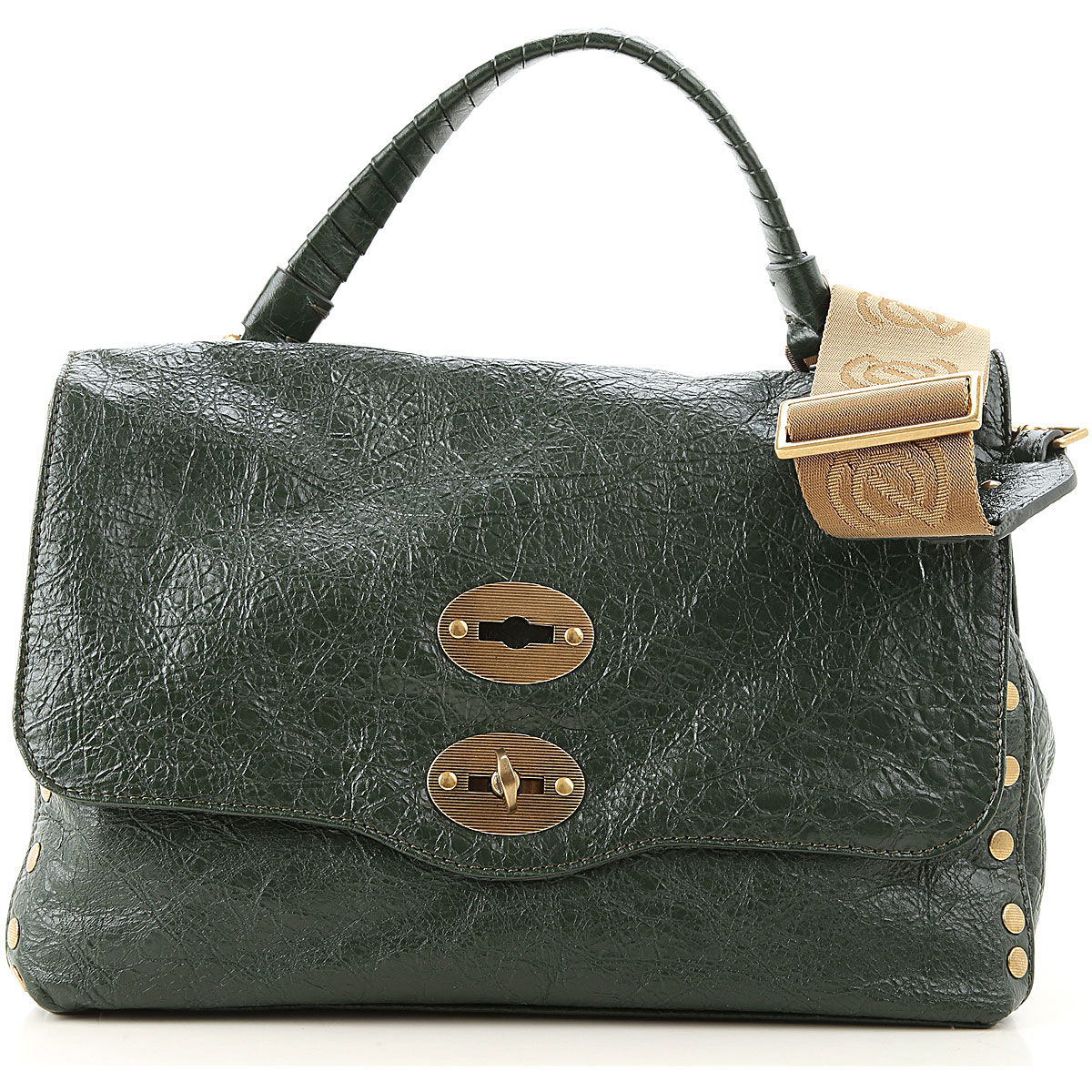 Zanellato Shoulder Bag for Women On Sale, Pine Green, Leather, 2019