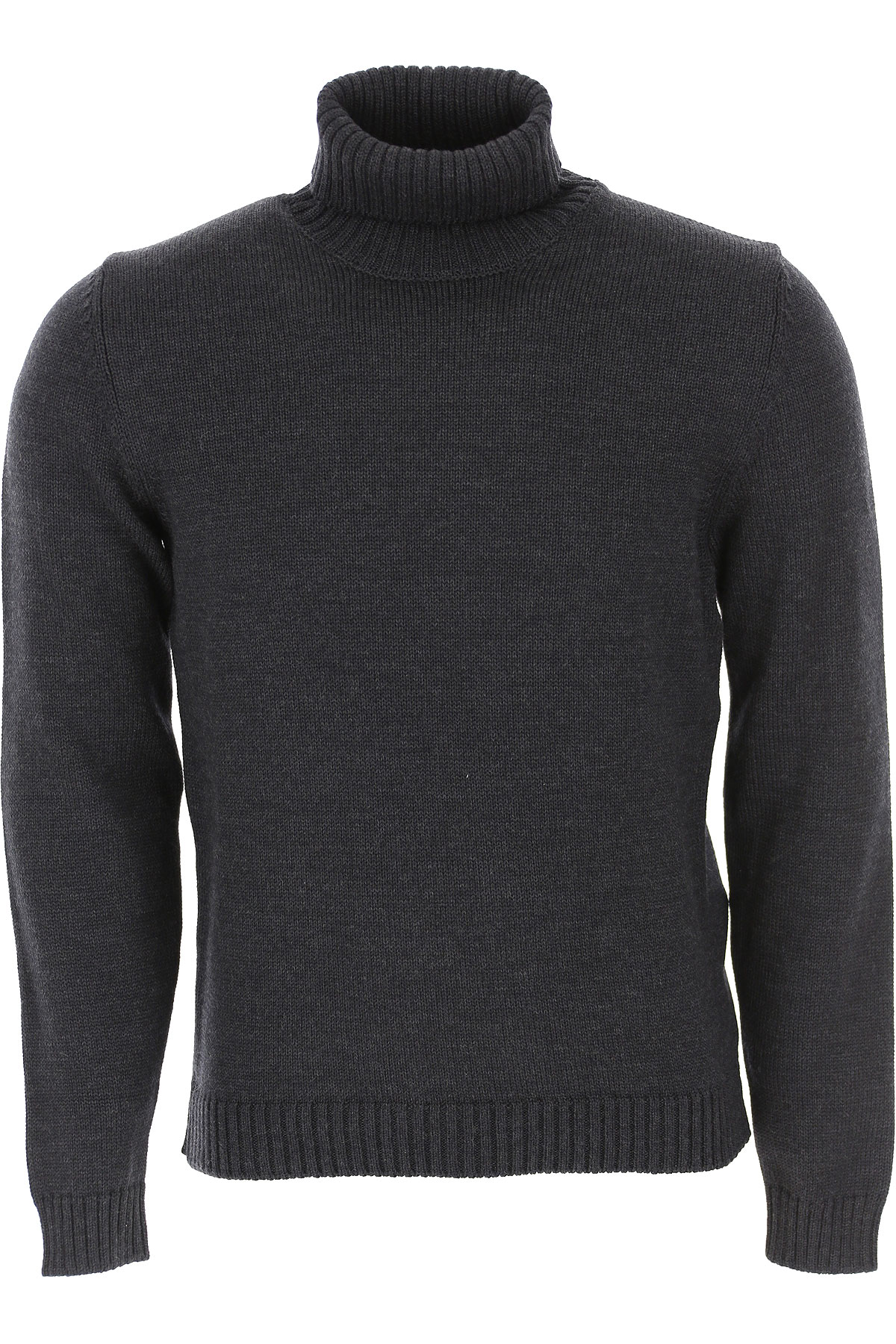 Zanone Sweater for Men Jumper On Sale, Anthracite Grey, Virgin wool, 2019, L M XL