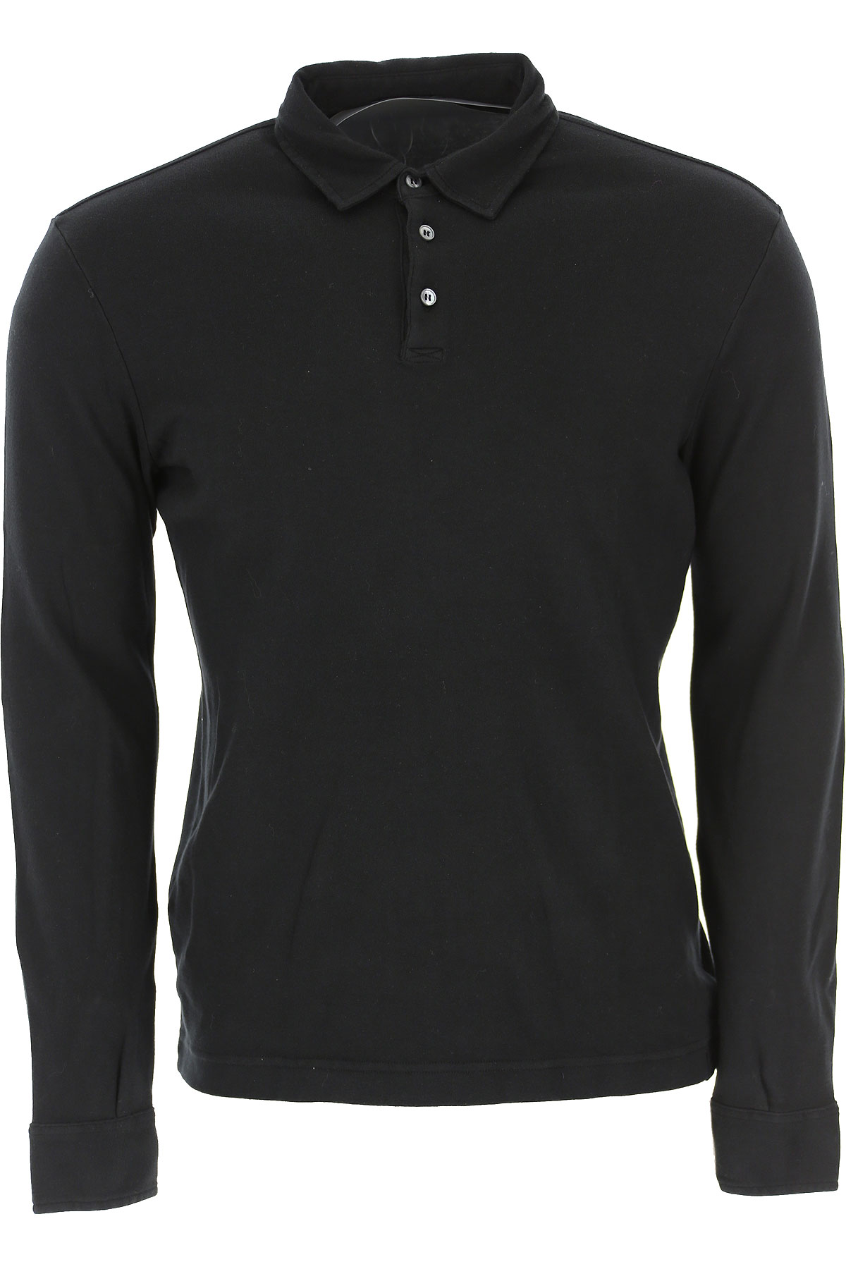 Zanone Polo Shirt for Men On Sale, Black, Cotton, 2019, L M XL