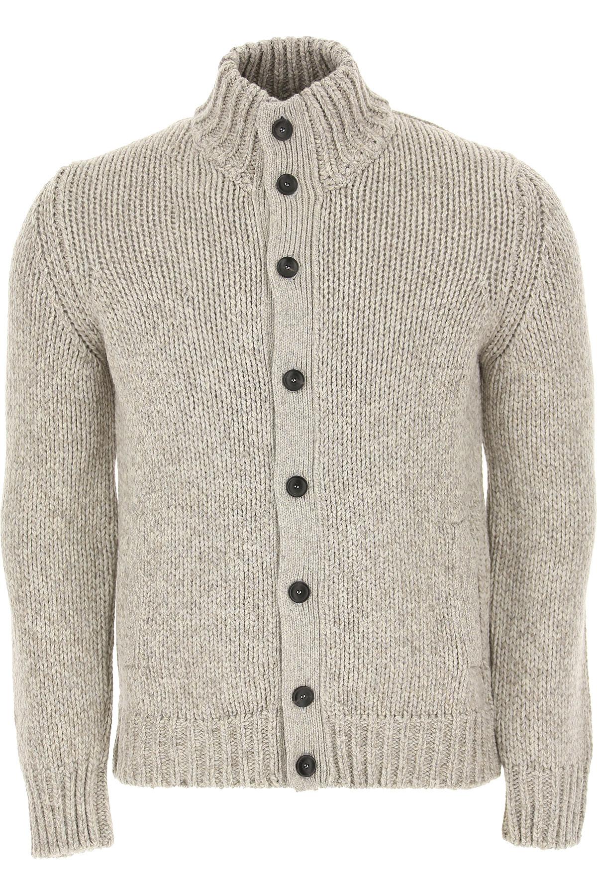 Zanone Sweater for Men Jumper On Sale, Grey, Wool, 2019, L M S