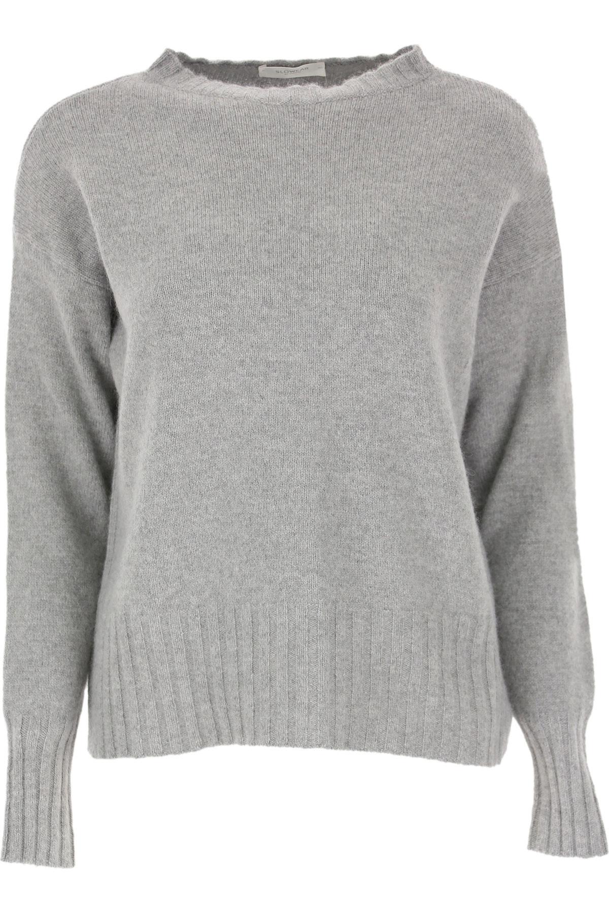 Zanone Sweater for Women Jumper On Sale, Grey, Wool, 2019, 4 6 8