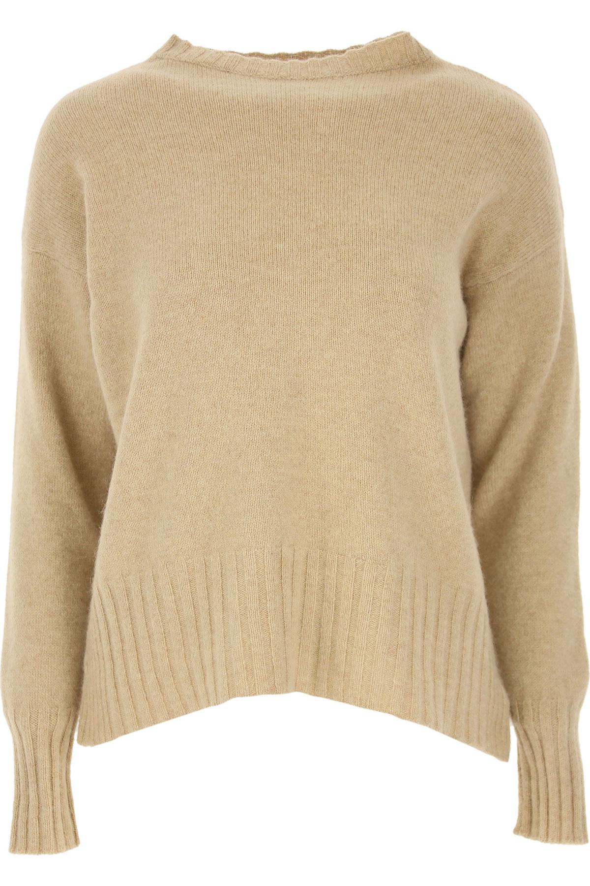 Zanone Sweater for Women Jumper On Sale, Beige, Wool, 2019, 6 8