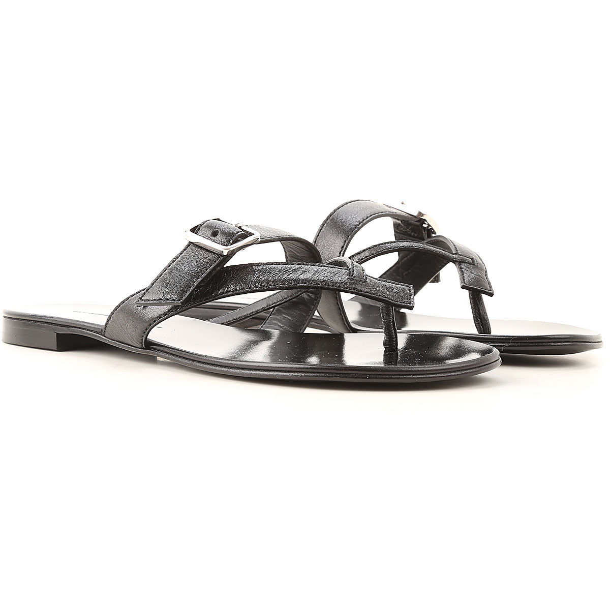 Giuseppe Zanotti Design Sandals for Women On Sale, Black, Leather, 2019, 10 6 8 9