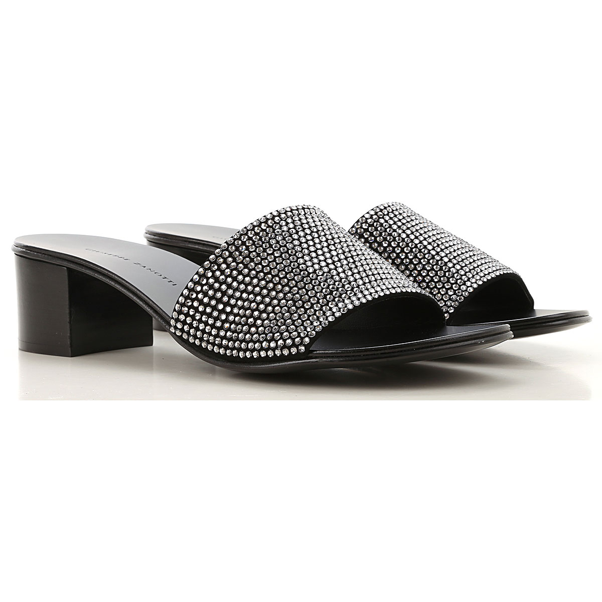 Giuseppe Zanotti Design Sandals for Women On Sale, Black, Leather, 2019, 6 7 8 8.5 9