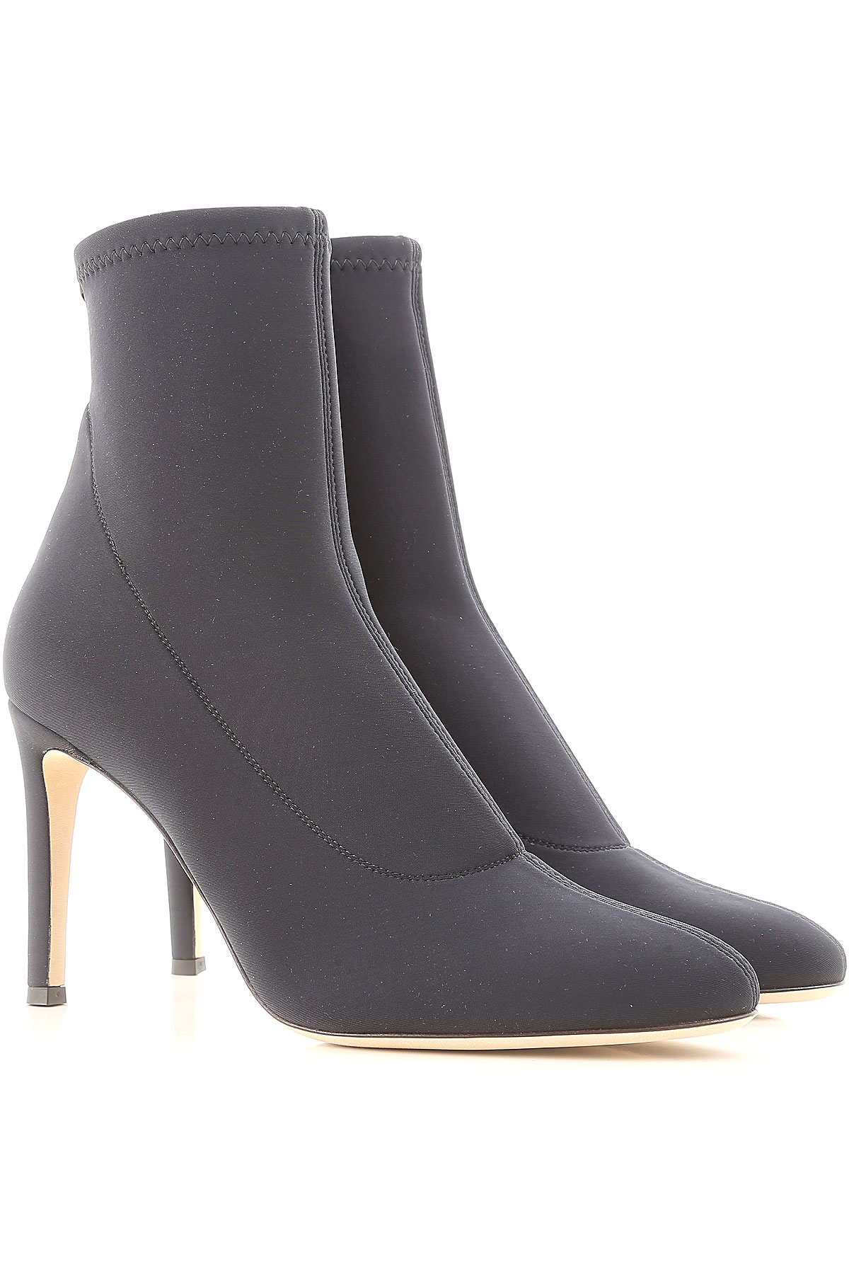 Giuseppe Zanotti Design Boots for Women, Booties On Sale in Outlet, Black, Neoprene, 2019, 8 8.5