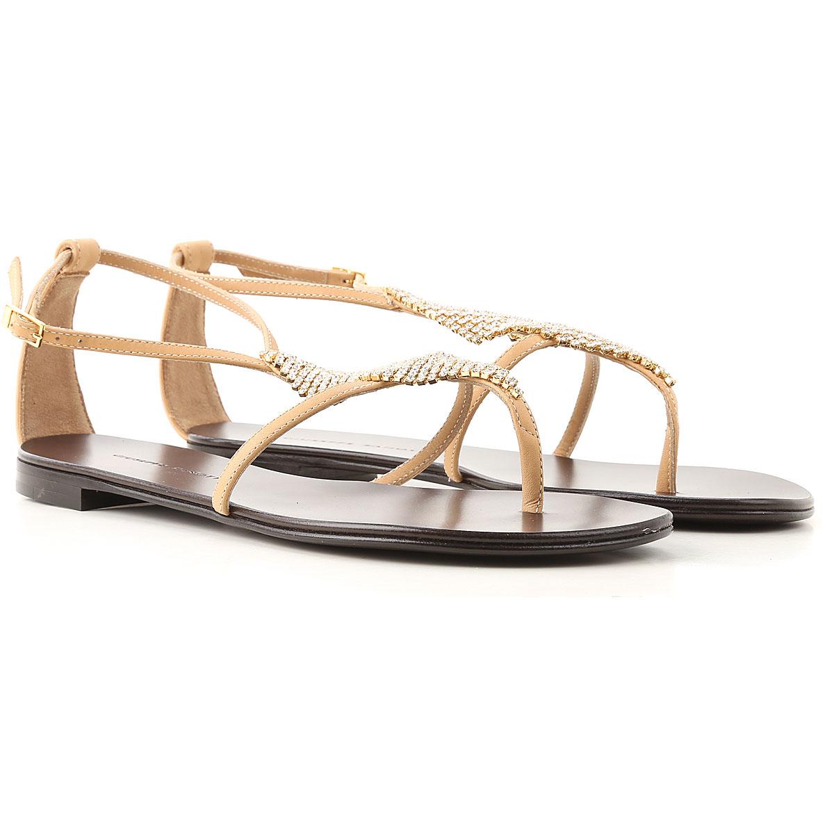 Giuseppe Zanotti Design Sandals for Women On Sale, Nude, Leather, 2019, 10 11 5.5 6 6.5 7 8 8.5 9