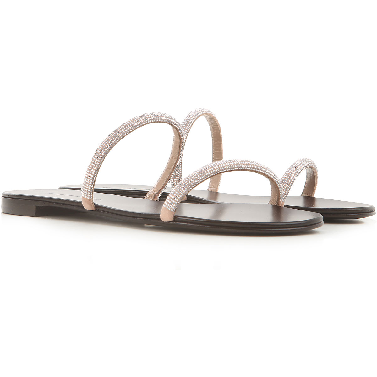 Giuseppe Zanotti Design Sandals for Women On Sale, antique pink, Leather, 2019, 10 11 5.5 6 8 8.5 9