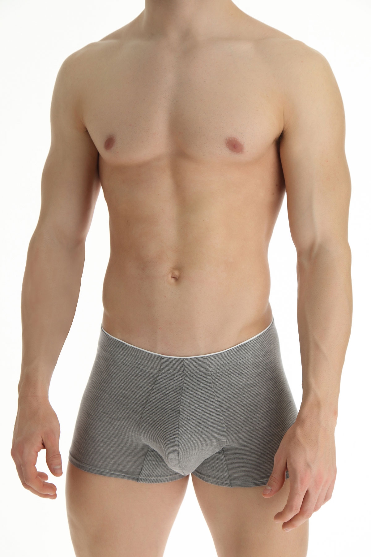 Ermenegildo Zegna Boxer Briefs for Men, Boxers On Sale, Grey Light, Cotton, 2019, S (IT 3) XL (IT 6)