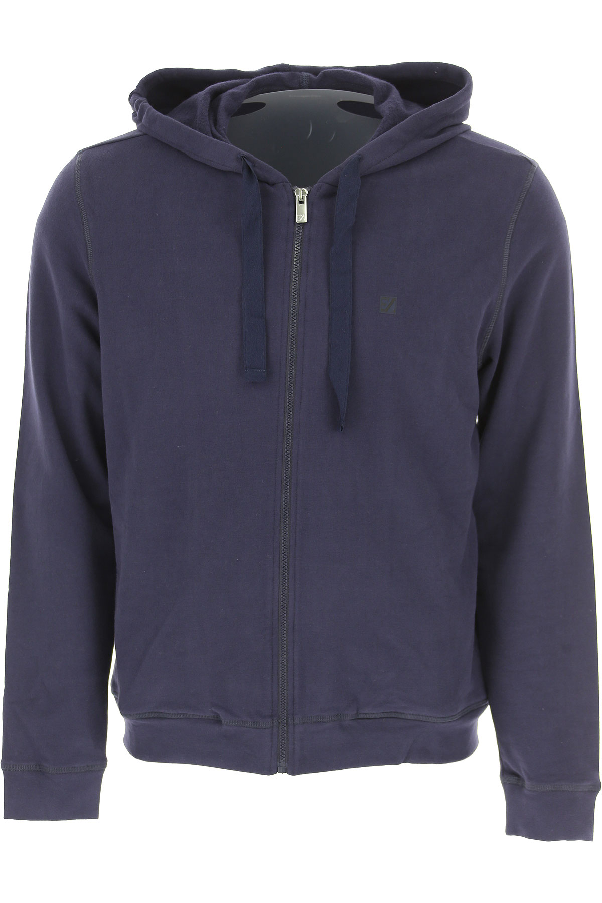 Ermenegildo Zegna Sweatshirt for Men, Blue, Cotton, 2017, L M S XL XXL USA-470922