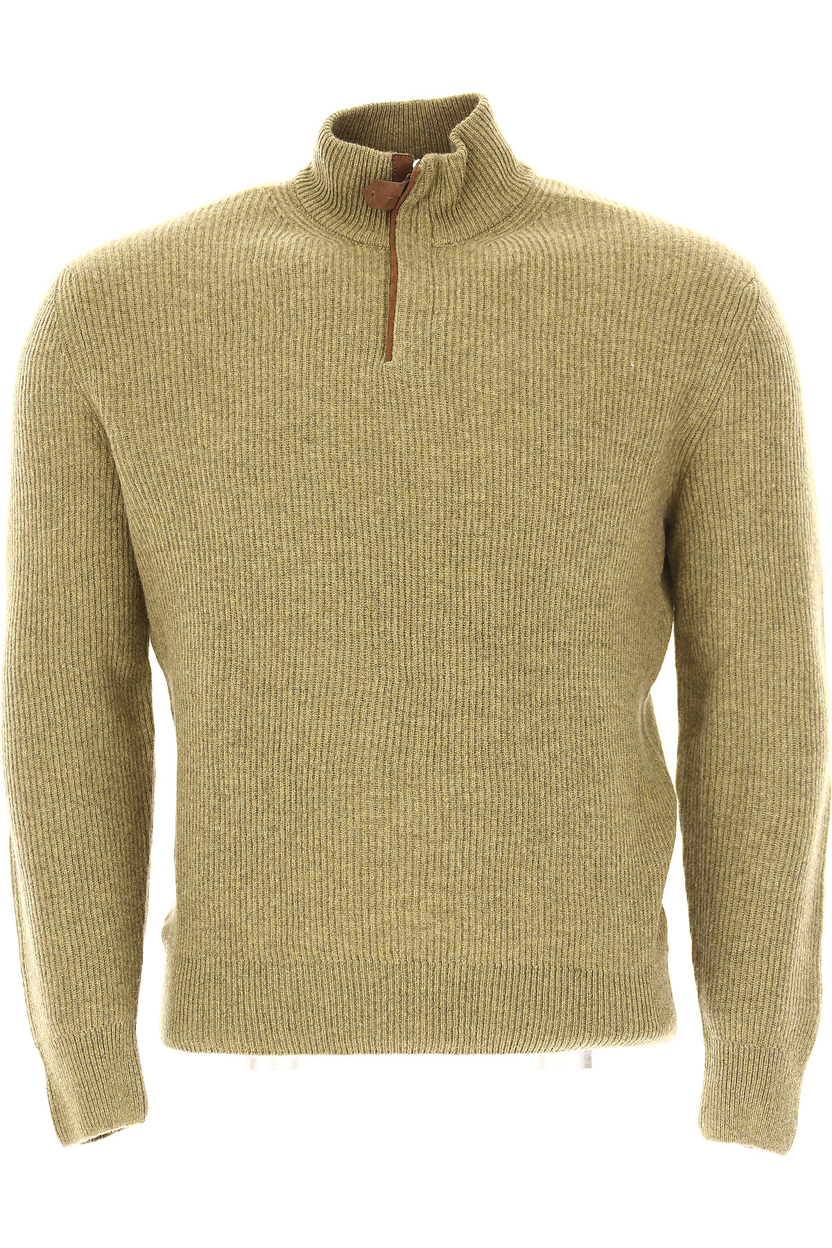 Ermenegildo Zegna Sweater for Men Jumper On Sale in Outlet, Musk Green, Cashmere, 2017, L M S XL USA-446589