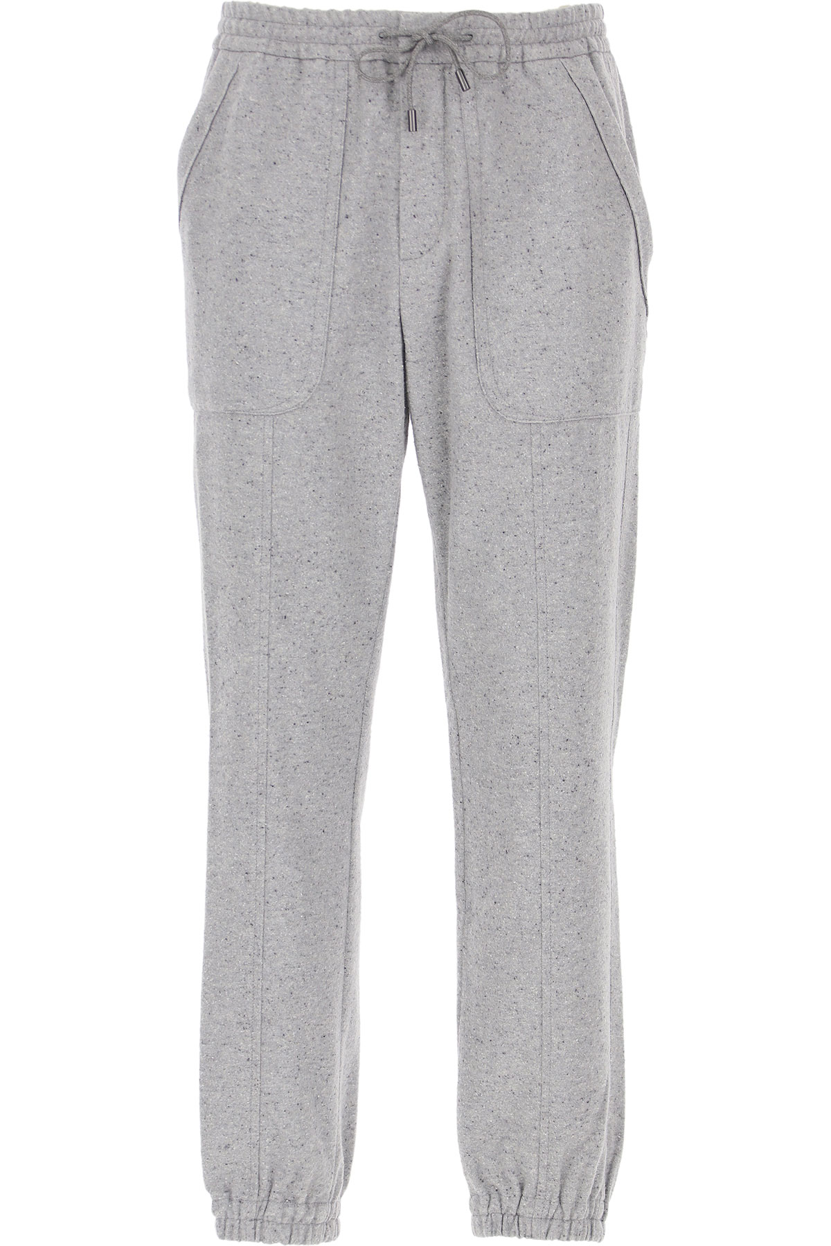Ermenegildo Zegna Pants For Men, Grey, Cotton, 2021, 30 34