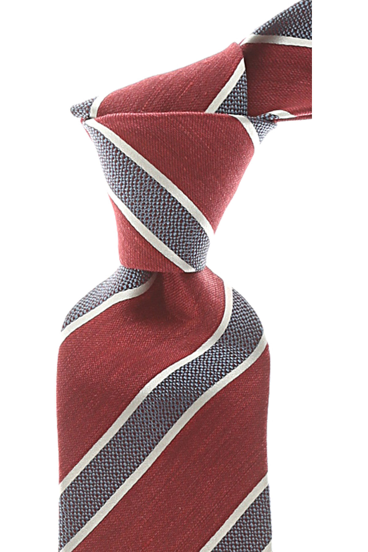 Ermenegildo_Zegna_Ties_On_Sale_Dark_Cardinal_Red_Melange_Silk_2019
