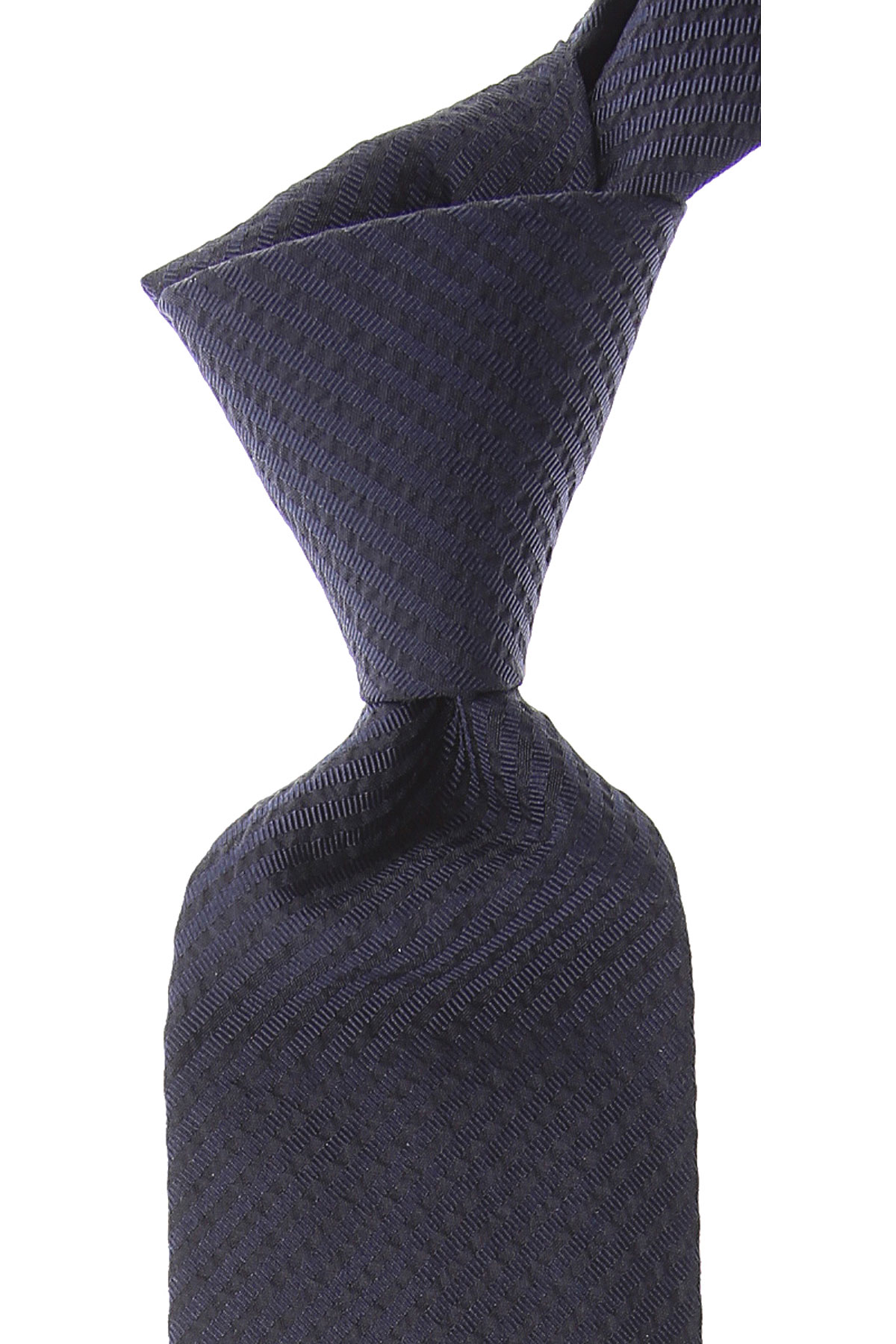 Ermenegildo_Zegna_Ties_On_Sale_Dark_Midnight_Blue_Silk_2019