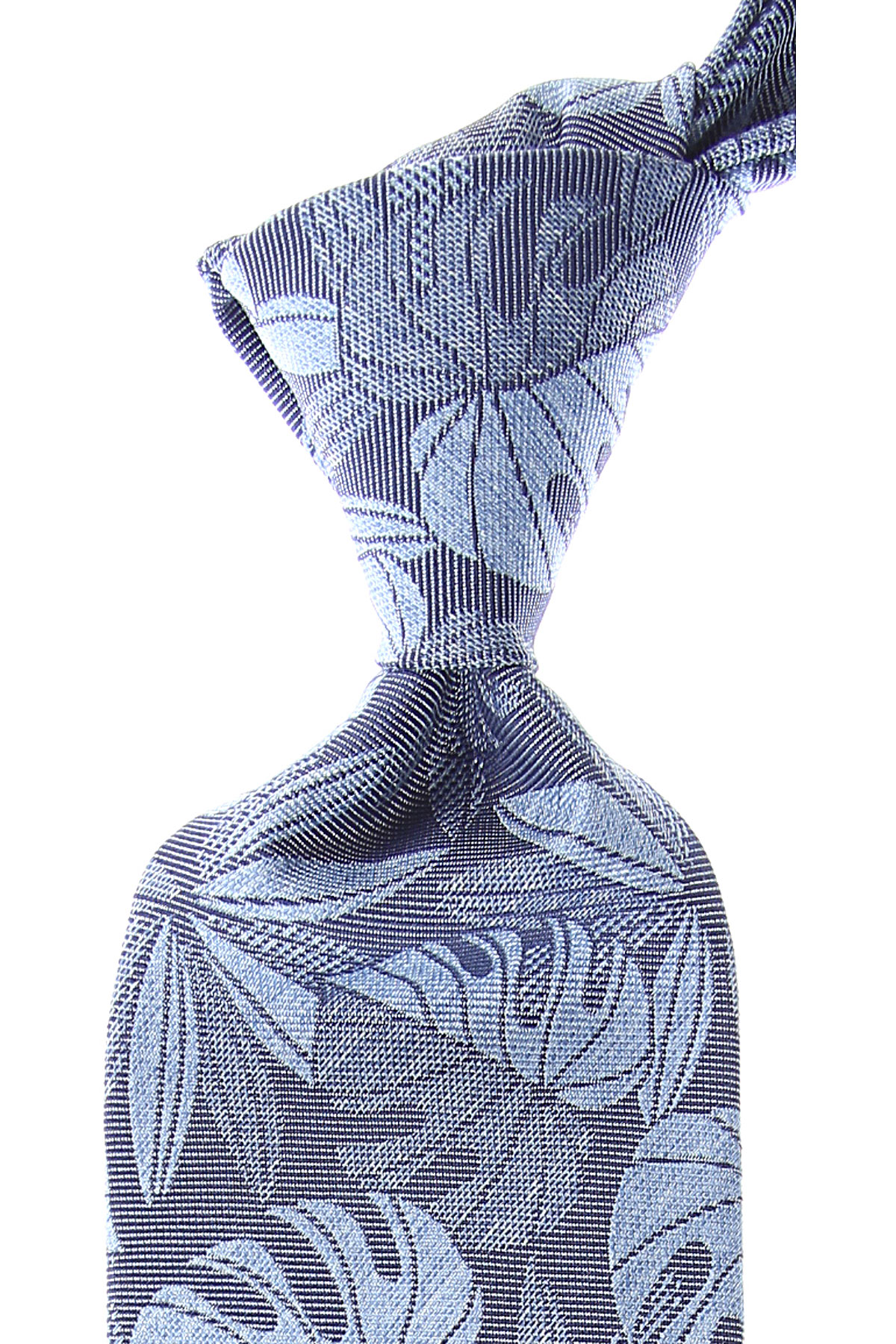 Ermenegildo_Zegna_Ties_On_Sale_Light_Denim_Blue_Silk_2019