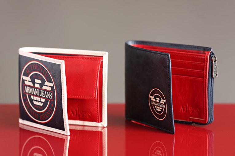 Бумажники Emporio Armani