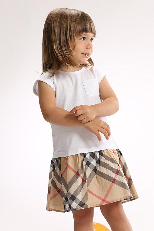 Одежда для новорожденных девочек Burberry