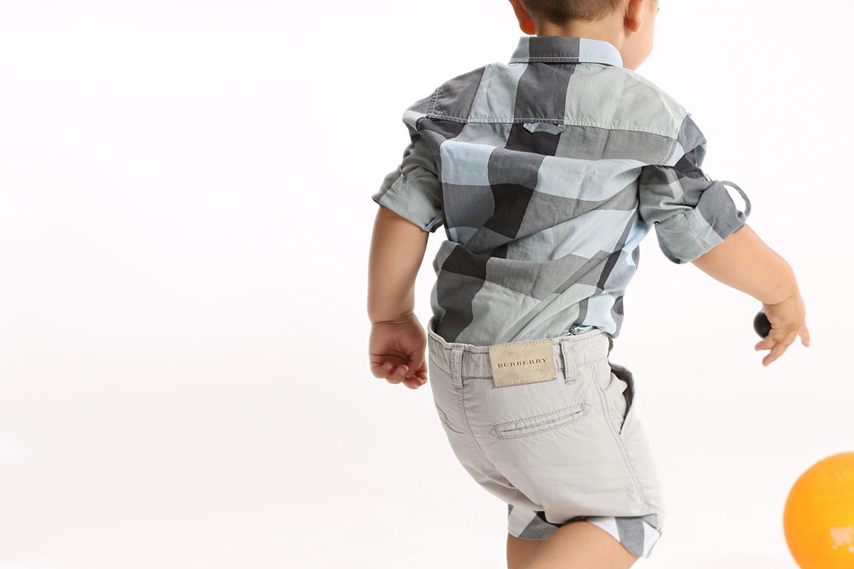 Burberry Erkek Bebek Giysileri