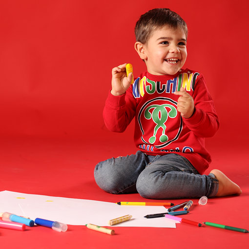 Moschino Erkek Bebek Giysileri